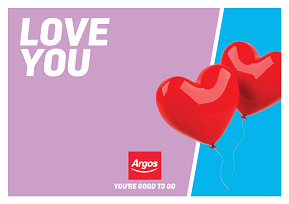 Argos Love You Wallet