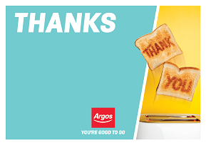 Argos Thank You Wallet