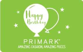 Primark eGift Happy Birthday