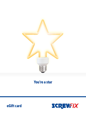 You're a star – bulb